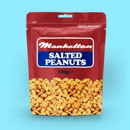 Manhattan 500g Salted Peanuts