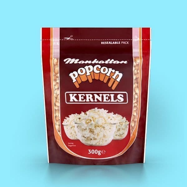 Manhattan popcorn kernels - Create your own natural popcorn at home