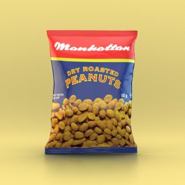 Manhattan 100g Dry Roasted Peanuts