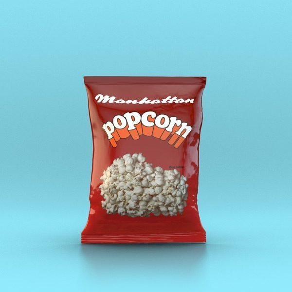 Manhattan Small Salted Popcorn - 60 x 15g packets