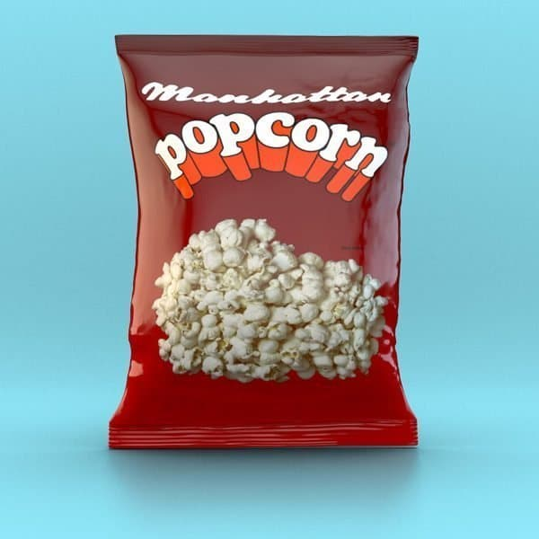 Manhattan Salted Popcorn - 12 x 100g packets