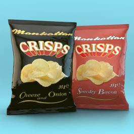 Mixed Crisps - 24 Cheese and Onion packets and 16 Smoky Bacon packets