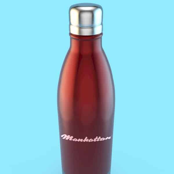 500ml Thermal Stainless Steel Bottle with Screw Cap