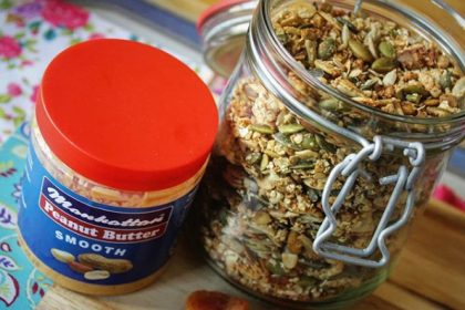 Granola and Peanut Butter Recipe