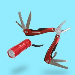 Multi tool and torch gift set