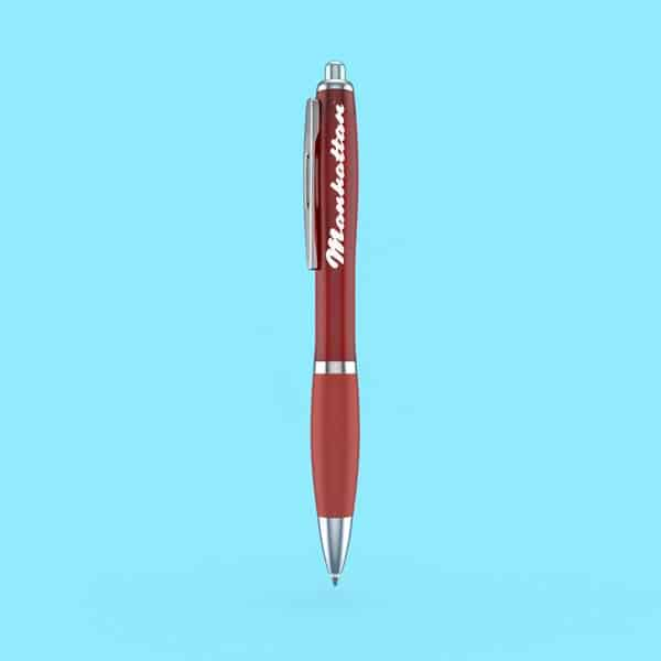 Red Manhattan Pen